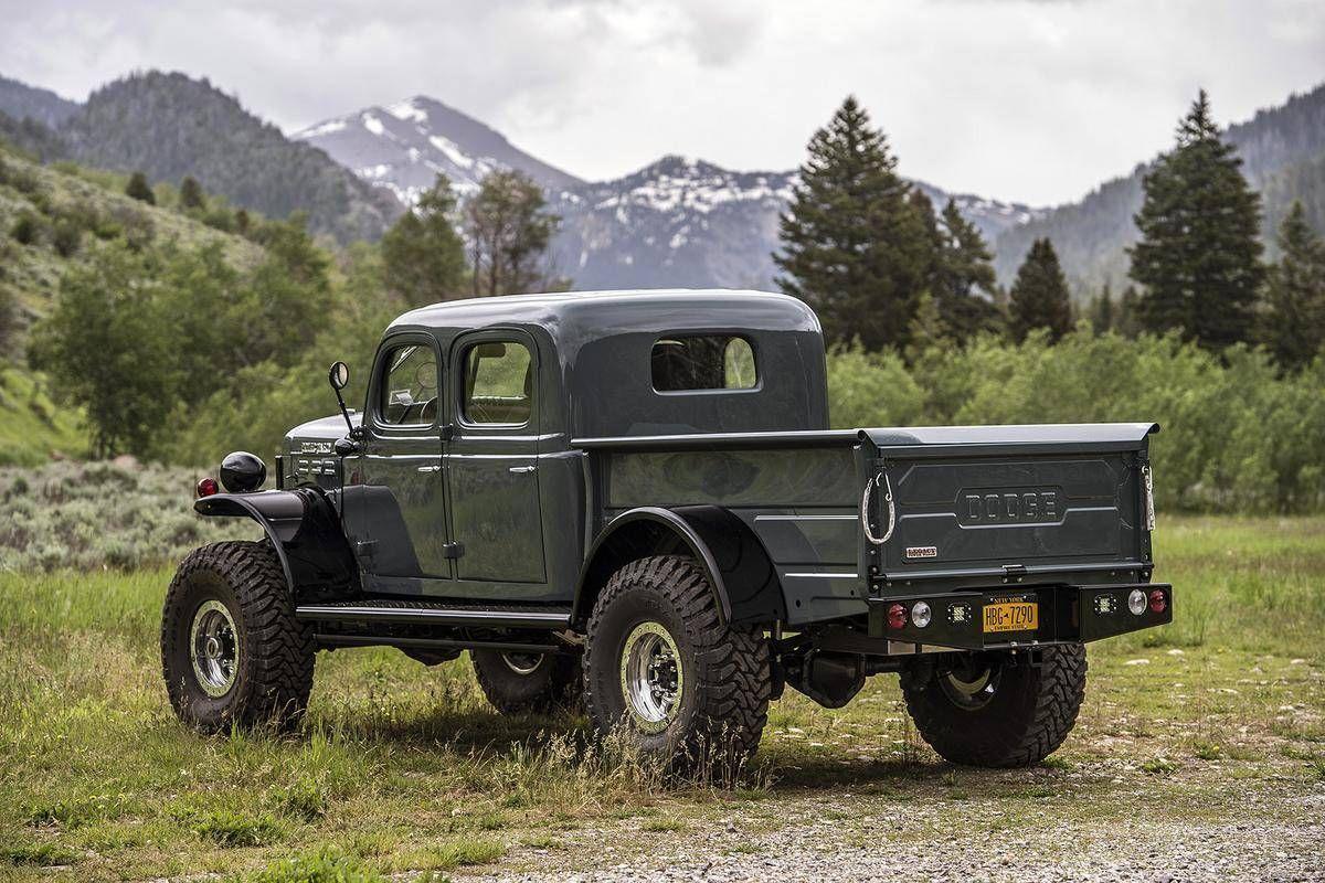 1952 dodge power wagon legacy conversion for sale 1854572 hemmings motor news off road. Black Bedroom Furniture Sets. Home Design Ideas