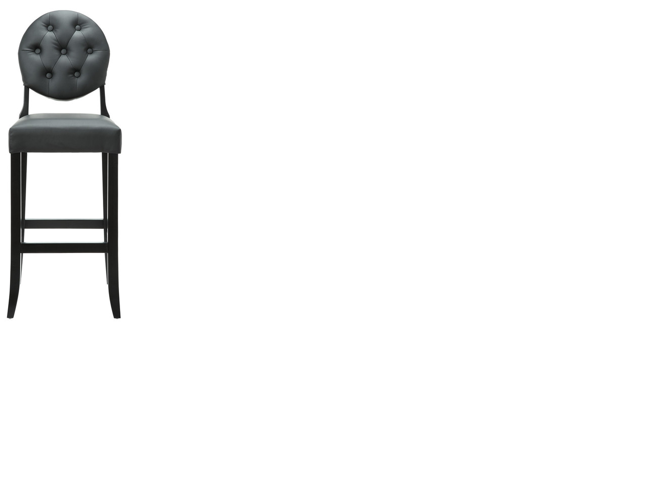 Http Www Houzz Com Photos 6226339 Buttoned Ghost Bar Stool In