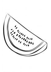 Раскраска Арбуз (с изображениями) | Раскраски, Ягоды, Арбуз