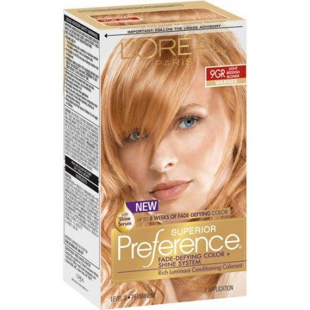 l oreal paris superior preference fade defying color shine hair