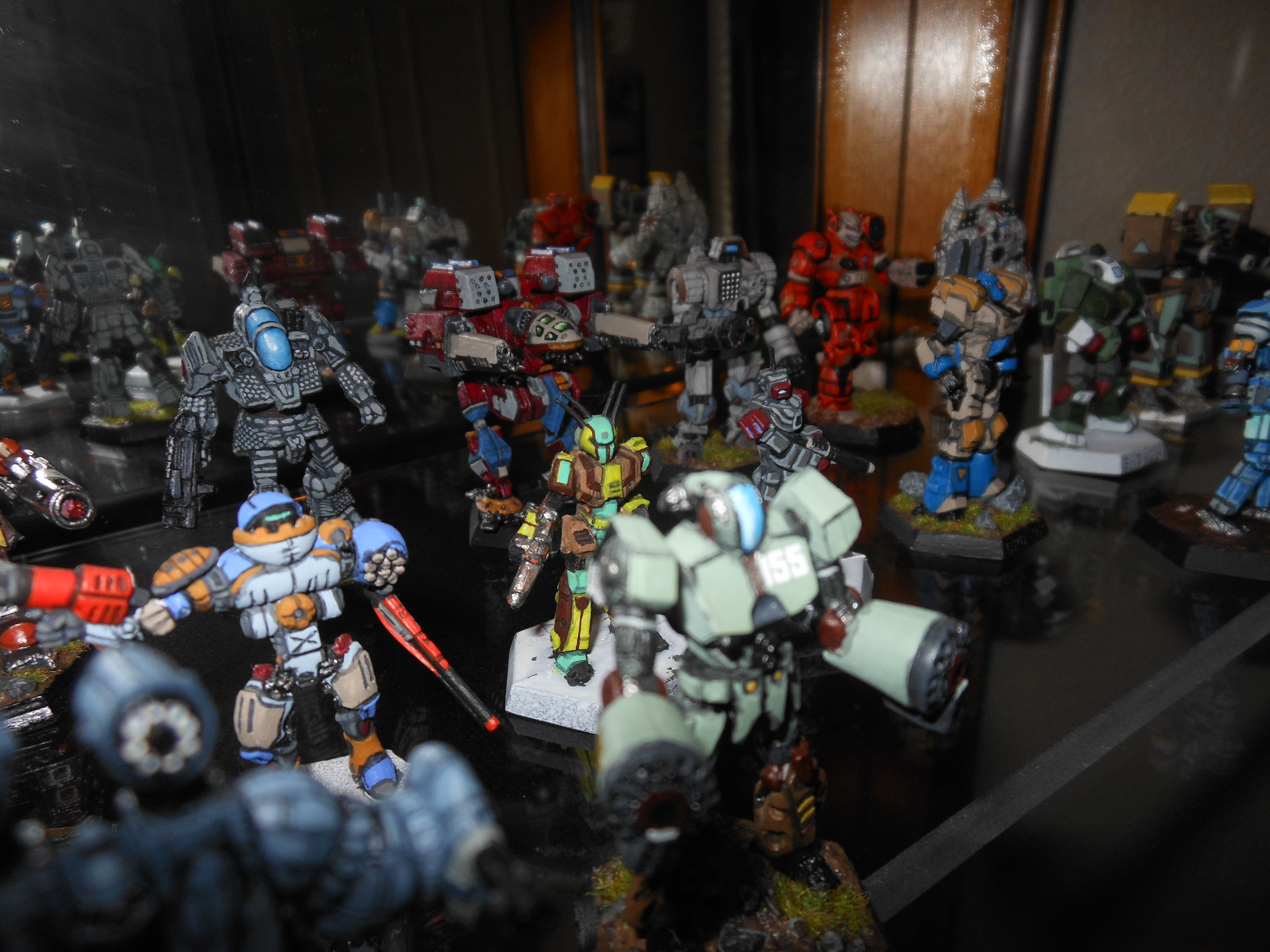 Some of my Battlemechs Games