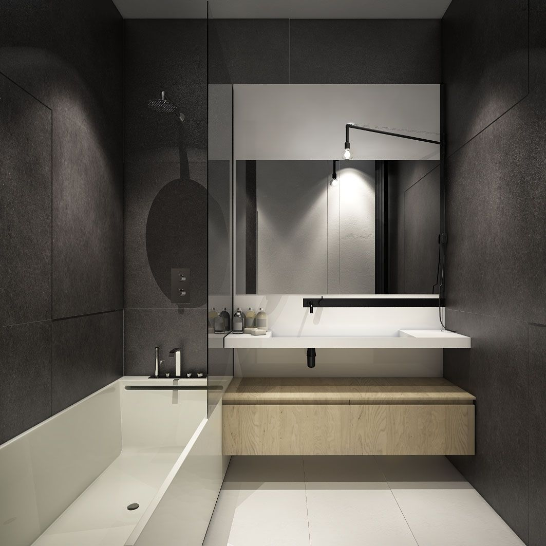 small bathroom looks. Bathroom Vanity Mirrors And Single Bathtub Shower For Small How To Decorate Simple Designs That Change Become