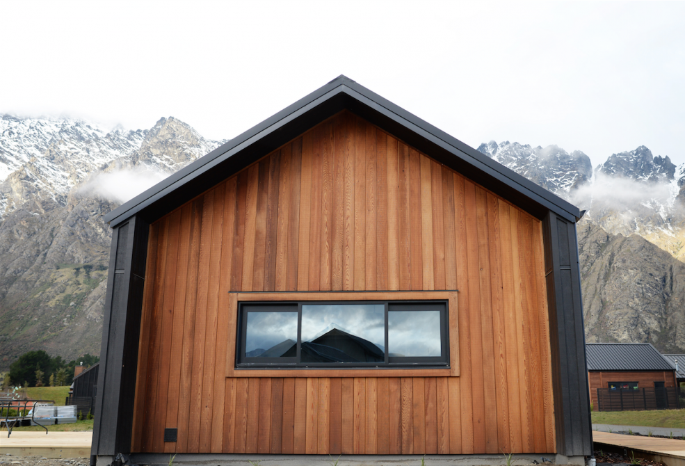 Cedar wing wall, building nz, build me, eco home, evolution ...