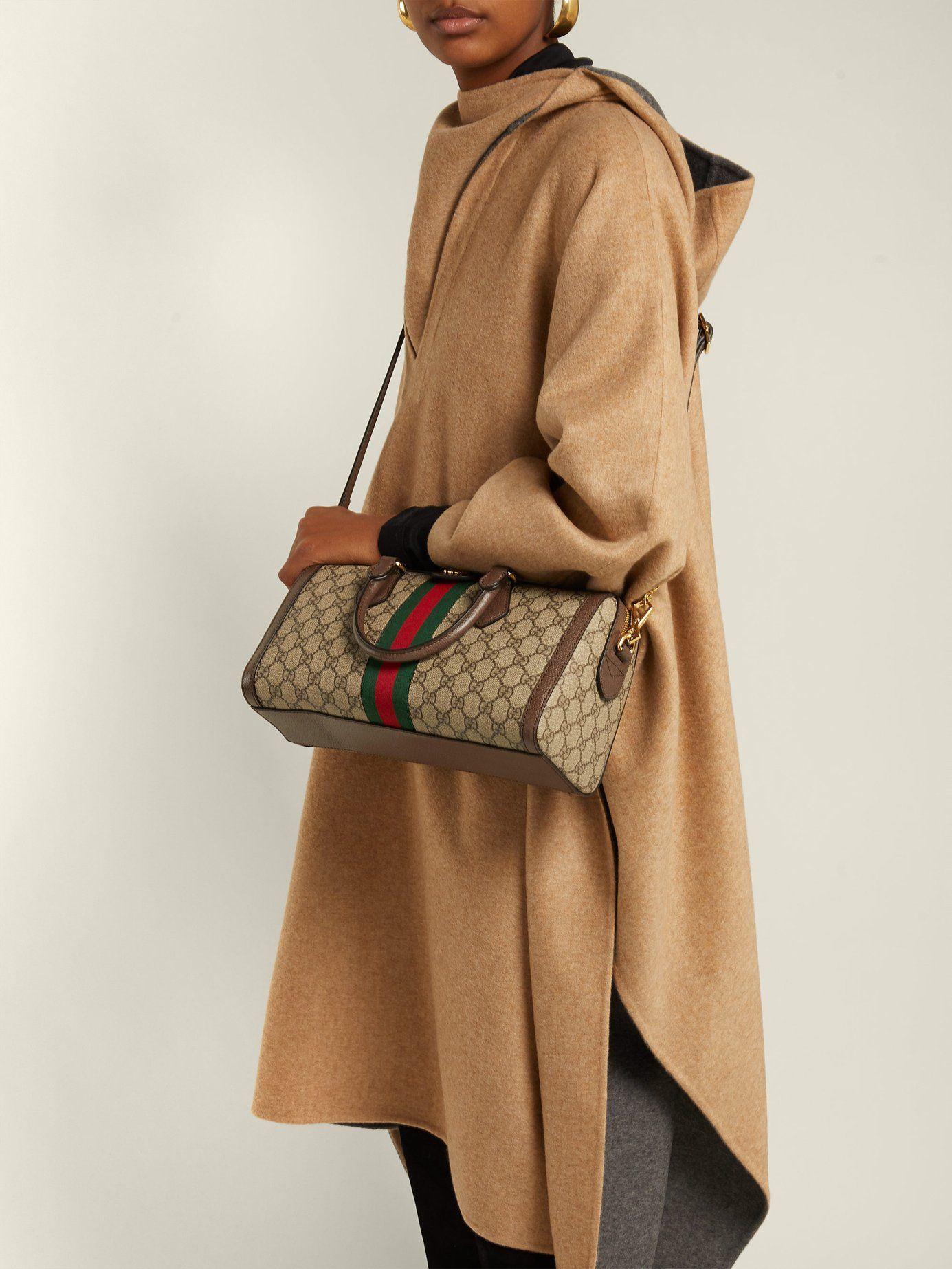 0e5fdbbfd9dc25 Ophidia Boston GG Supreme bag | Gucci | MATCHESFASHION.COM UK ...