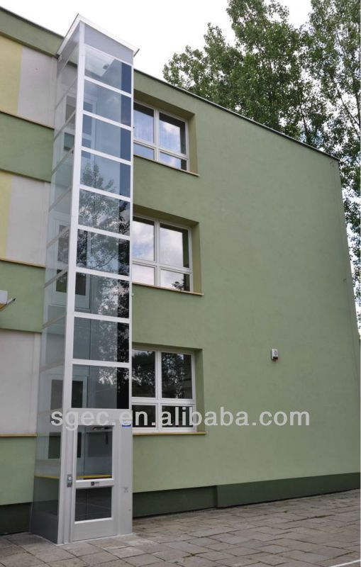 Small home elevator for sale cheap price easy installtaion for Houses with elevators for sale