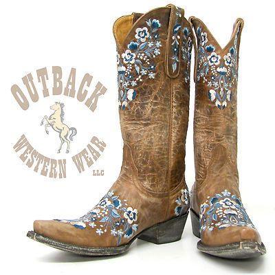 "Old Gringo Ladies Sora Boots 13"" Top L841 19 | eBay"