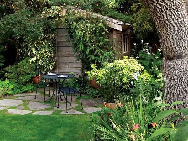 Jardines de casas rusticas buscar con google jardin for Casa terraza y jardin