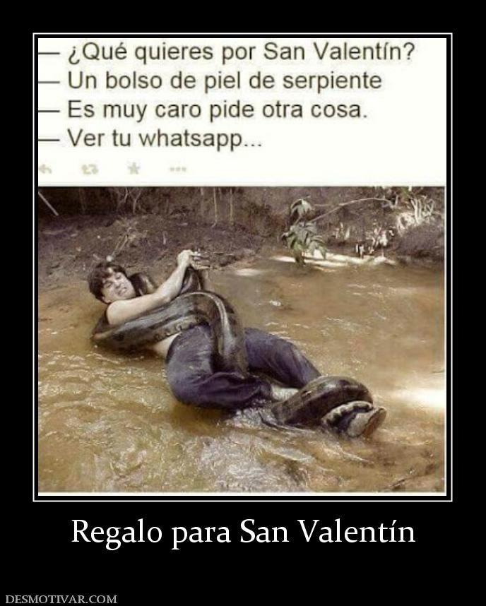 Desmotivaciones Regalo Para San Valentin New Memes Humor Memes