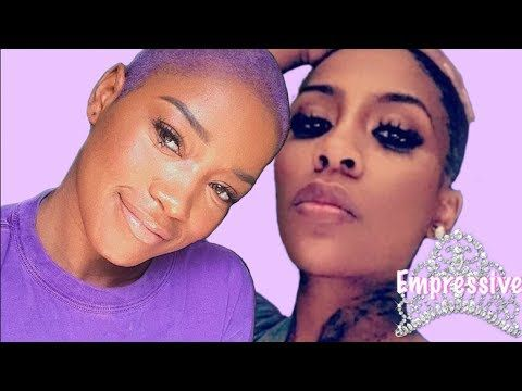 Youtube Shaved Head K Michelle Hair Hair Styles