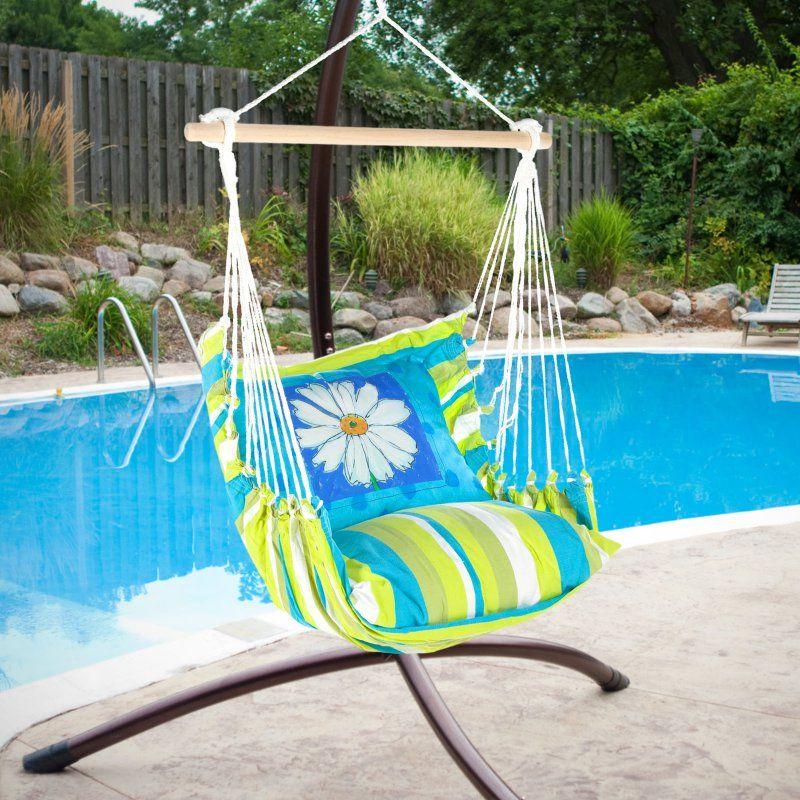 Outdoor Magnolia Casual Daisy Days Hammock Chair Pillow Set Bbdz