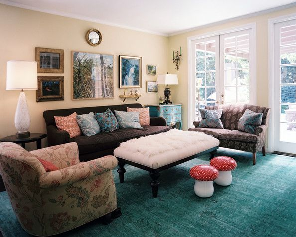 Living Room Photos | Living rooms, Ottomans and Room
