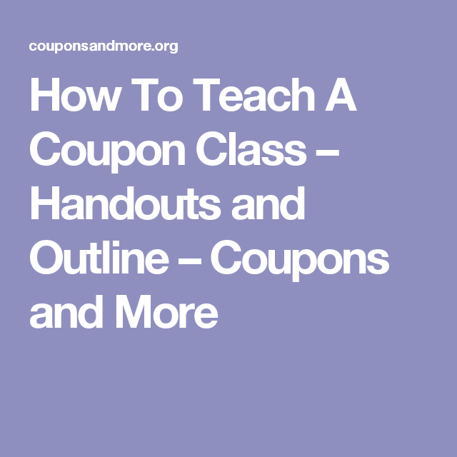 image relating to Diva Cup Printable Coupon referred to as How Toward Prepare A Coupon Cl Handouts and Define Discount codes