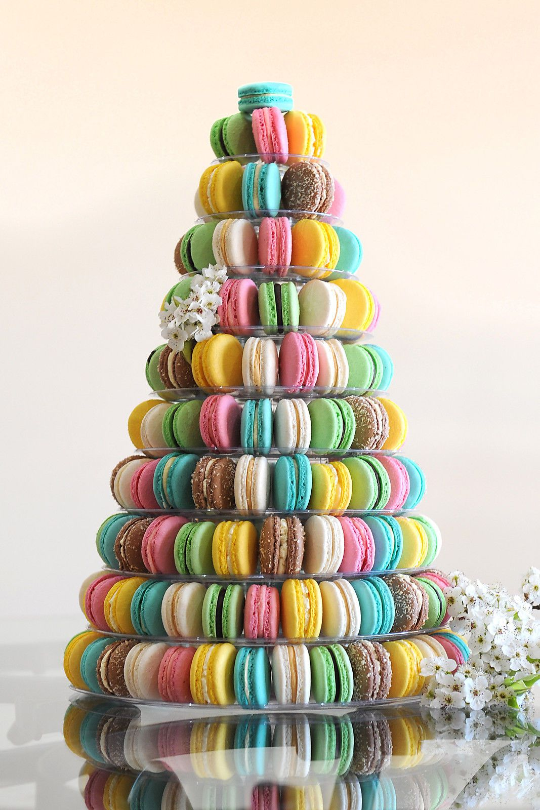 10 Tier Acrylic Round Macaron Tower Macaron Stand Birthday Party Anniversary Wedding Cake Alternatives Macaroon Tower Macaron Tower