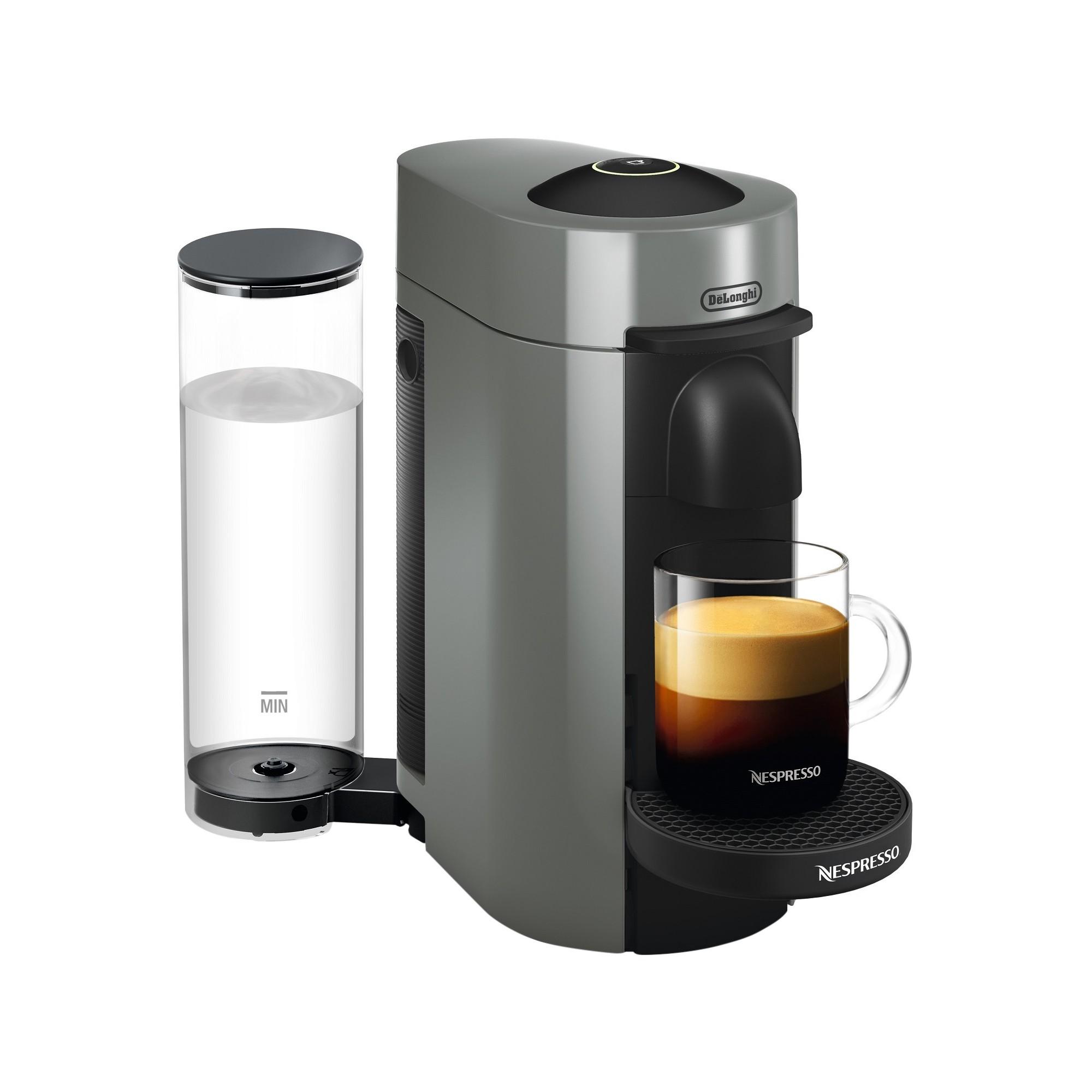 Nespresso Vertuo Plus Coffee and Espresso Machine Gray