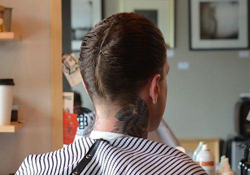 The Duck's Ass Aka Ducktail Hair