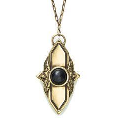 Pamela love shield pendant with black agate dress up pinterest pamela love shield pendant with black agate aloadofball Image collections