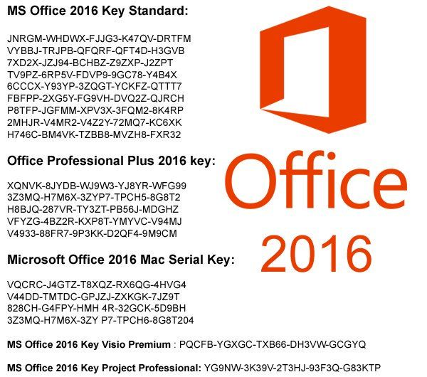 Ms office pro plus product key 2016 | Microsoft Office 2016 Product