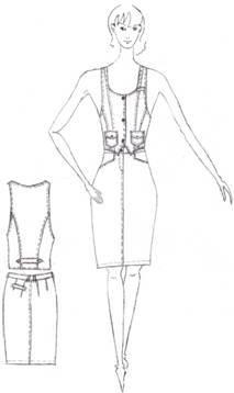 Дипломная работа на тему пошив джинсового костюма Мода  Дипломная работа на тему пошив джинсового костюма