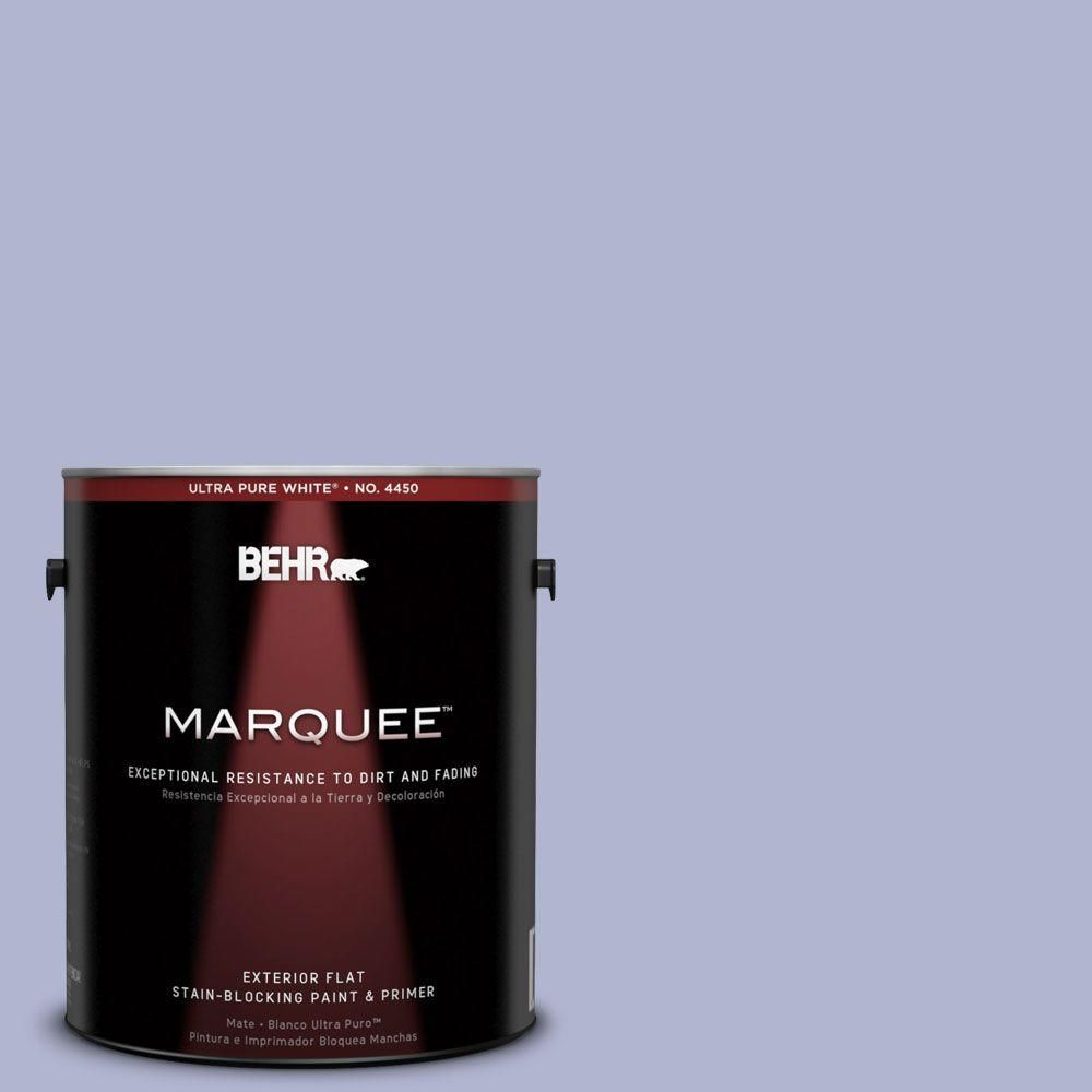 BEHR MARQUEE 1-gal. #620C-3 Purple Surf Flat Exterior Paint