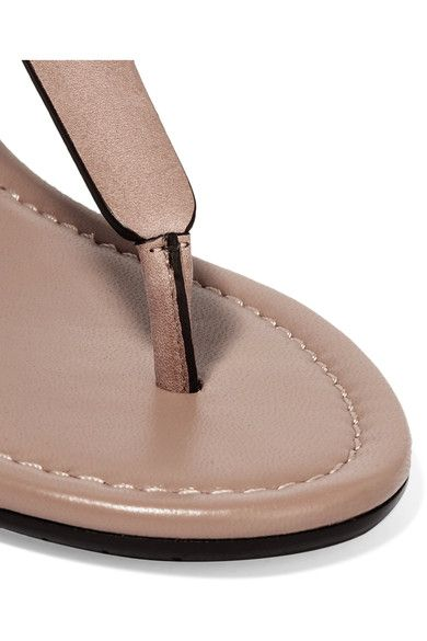 f571b7c2e73 Jimmy Choo - Dara Studded Leather Sandals - Neutral | Products ...
