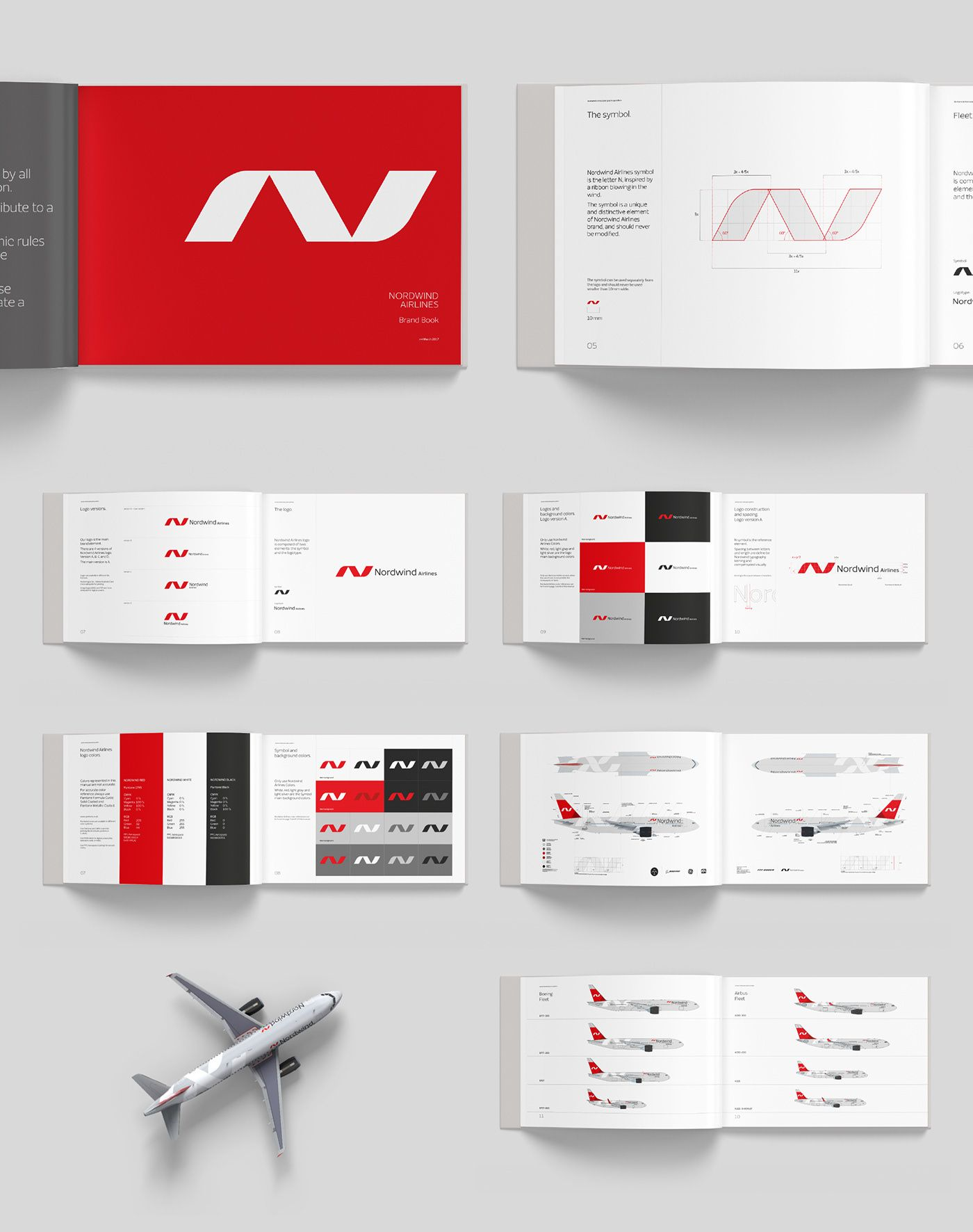 Nordwind Airlines Rebrand On Behance Airlines Branding Rebranding Corporate Design