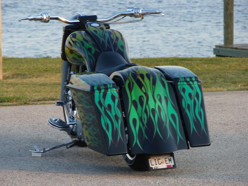 Bad Dad | Custom Bagger Parts for Your Bagger | Baggers :: Ronnie's Road King