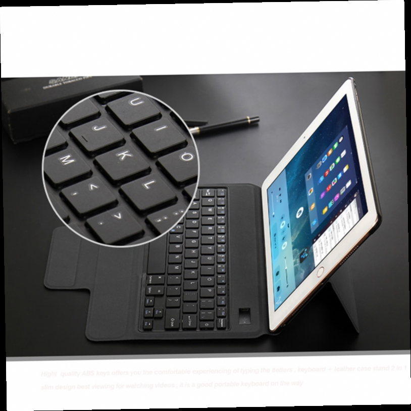 47.48$  Watch now - http://ali09m.worldwells.pw/go.php?t=32784147782 - For Apple iPad 12.9 Keyboard Case-Ultra Slim Smart Keybaord Keyboard Wireless Bluetooth with Leather Case cover for iPad Pro