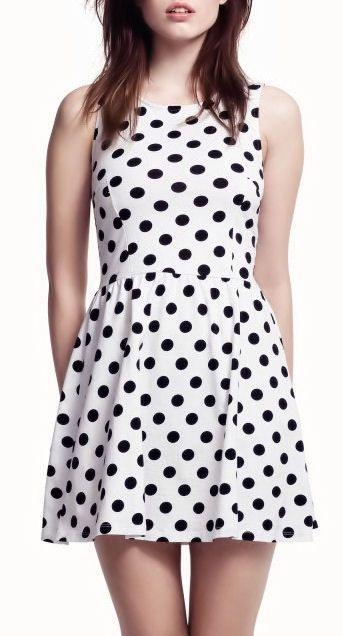 Polka Dot Dress <3