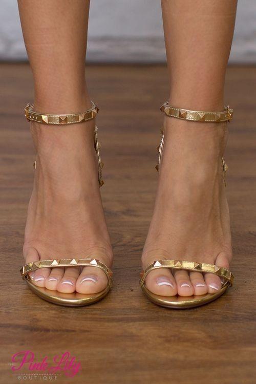 Sexy feet in high heel