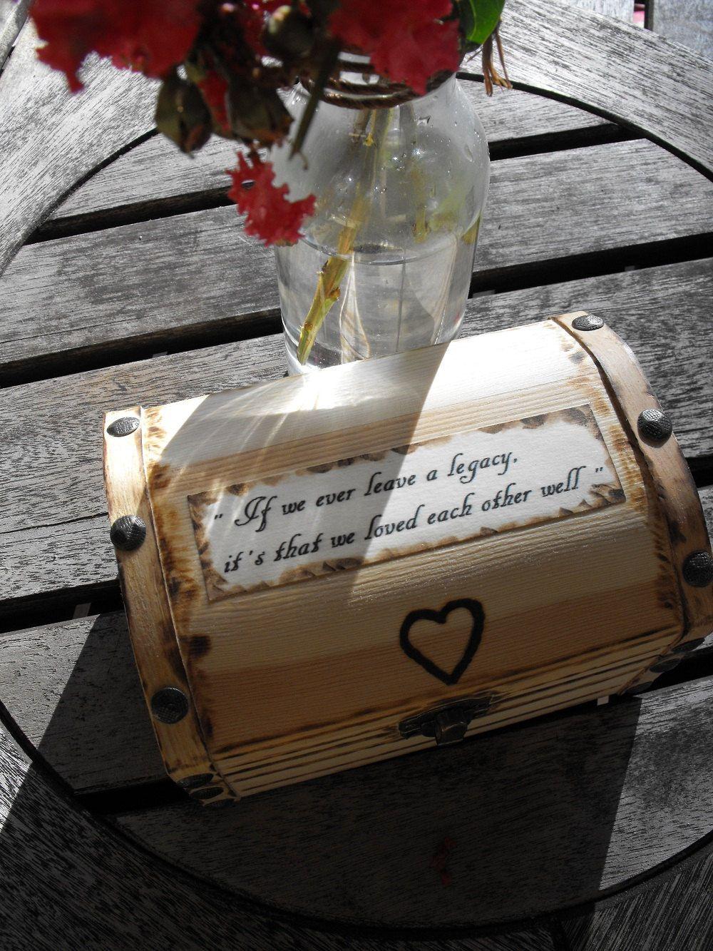 Custom Wedding Ring Box Anniversary Engagement Mini