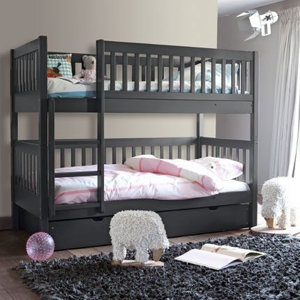 lits superpos s et tiroir en pin diablotin am pm la redoute chambre enfant pinterest. Black Bedroom Furniture Sets. Home Design Ideas