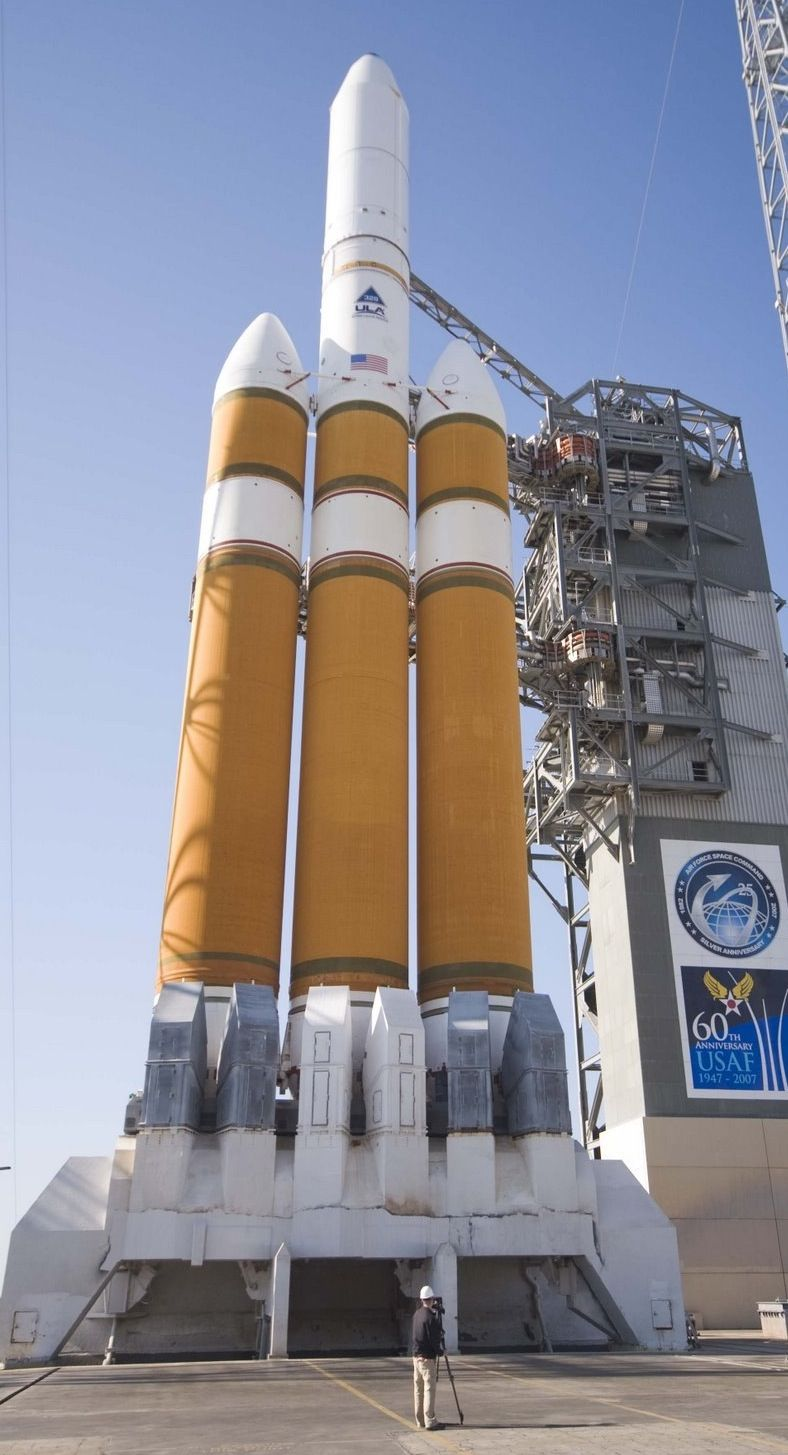 ULA Delta IVHeavy rocket from the Boeing Delta rocket