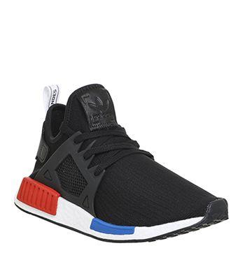 Adidas, Nmd Xr1, Black Red Blue White Pk