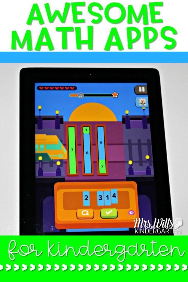 8 Awesome Kindergarten Math Apps Kindergarten math, Free