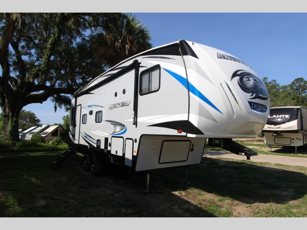 New 2021 Forest River Rv Cherokee Arctic Wolf 251mk Fifth Wheel At Optimum Rv Ocala Fl 6ch145 In 2020 Forest River Rv Forest River Arctic Wolf