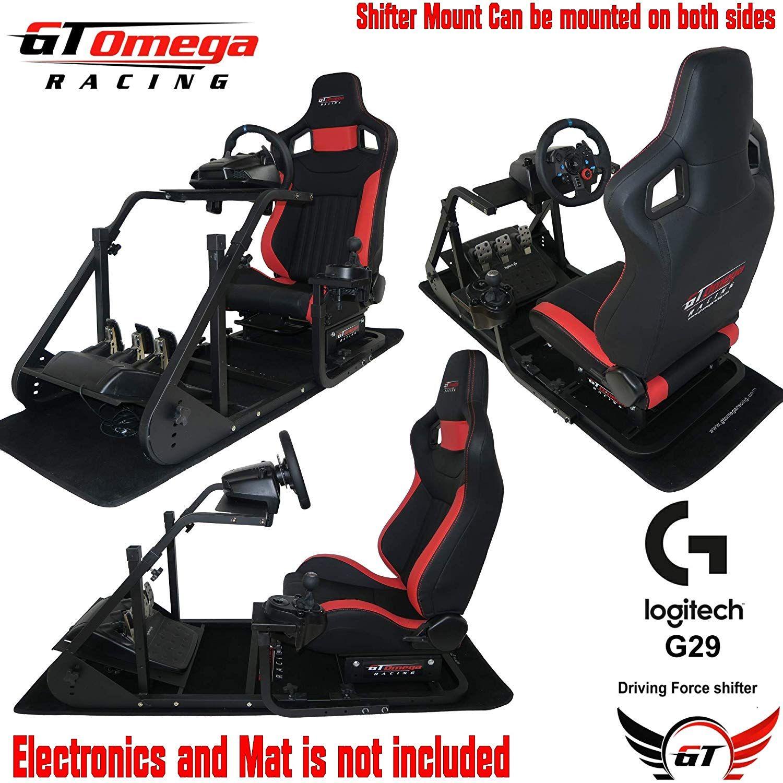 GT Omega ART Racing Simulator Cockpit Grand_Touring gran