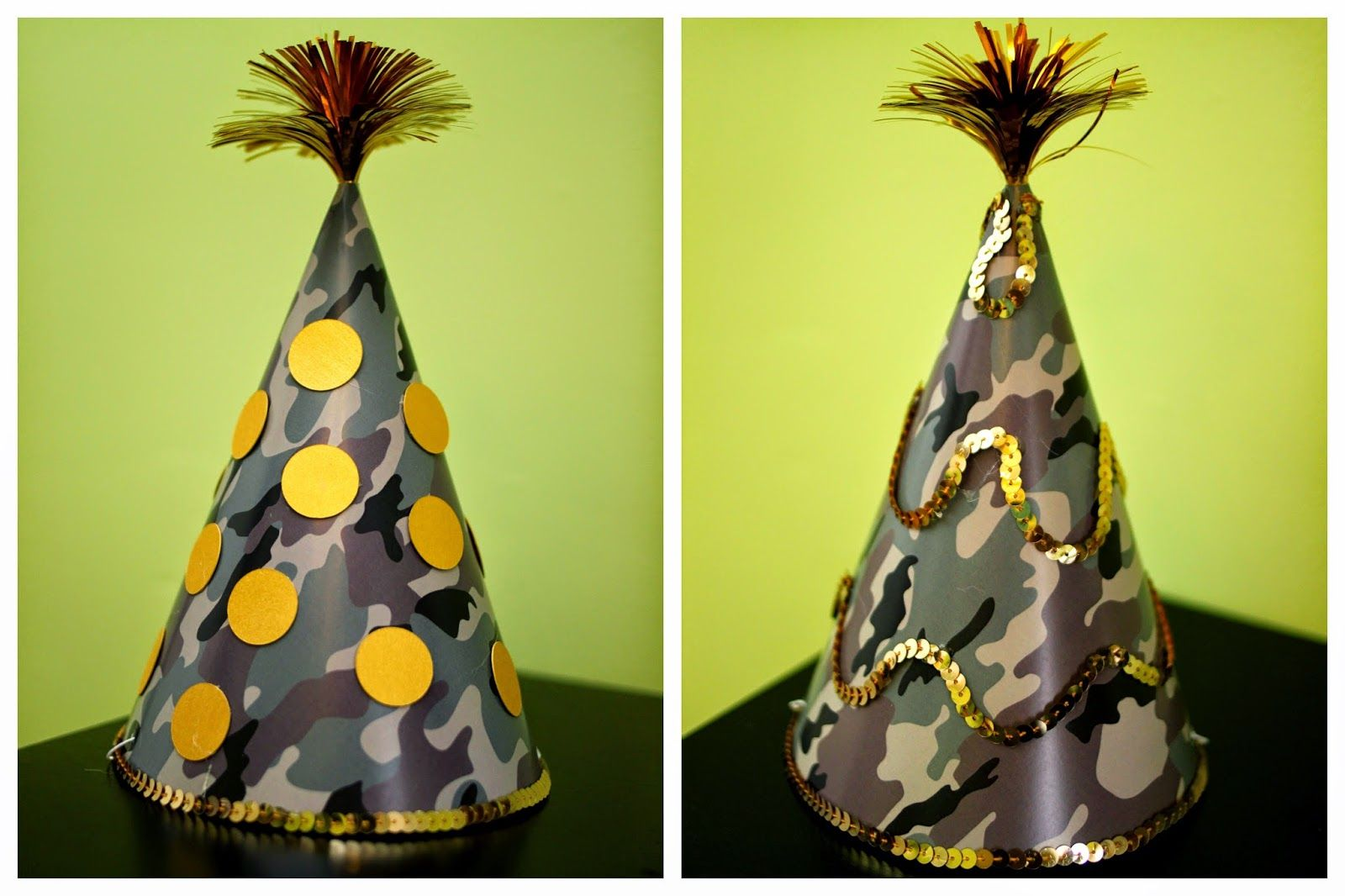 Birthday Party Hats For Camouflage 60th Hunter Gold Deer Camo Hunting Duck Dynasty