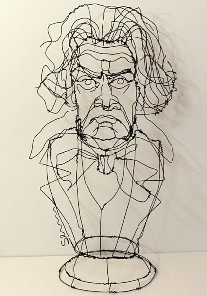 Martin Senn, wire sculpture … | Draht | …