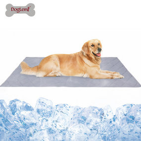 Pet Ice Pad Summer Dog Heatproof Cool Feeling Blanket Cat Dog Cool Cool Silk Mat Sleeping Pad In 2020 Dog Cooling Mat Pet Mat Dog Flooring