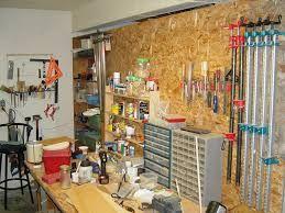 messy woodshop - Google Search