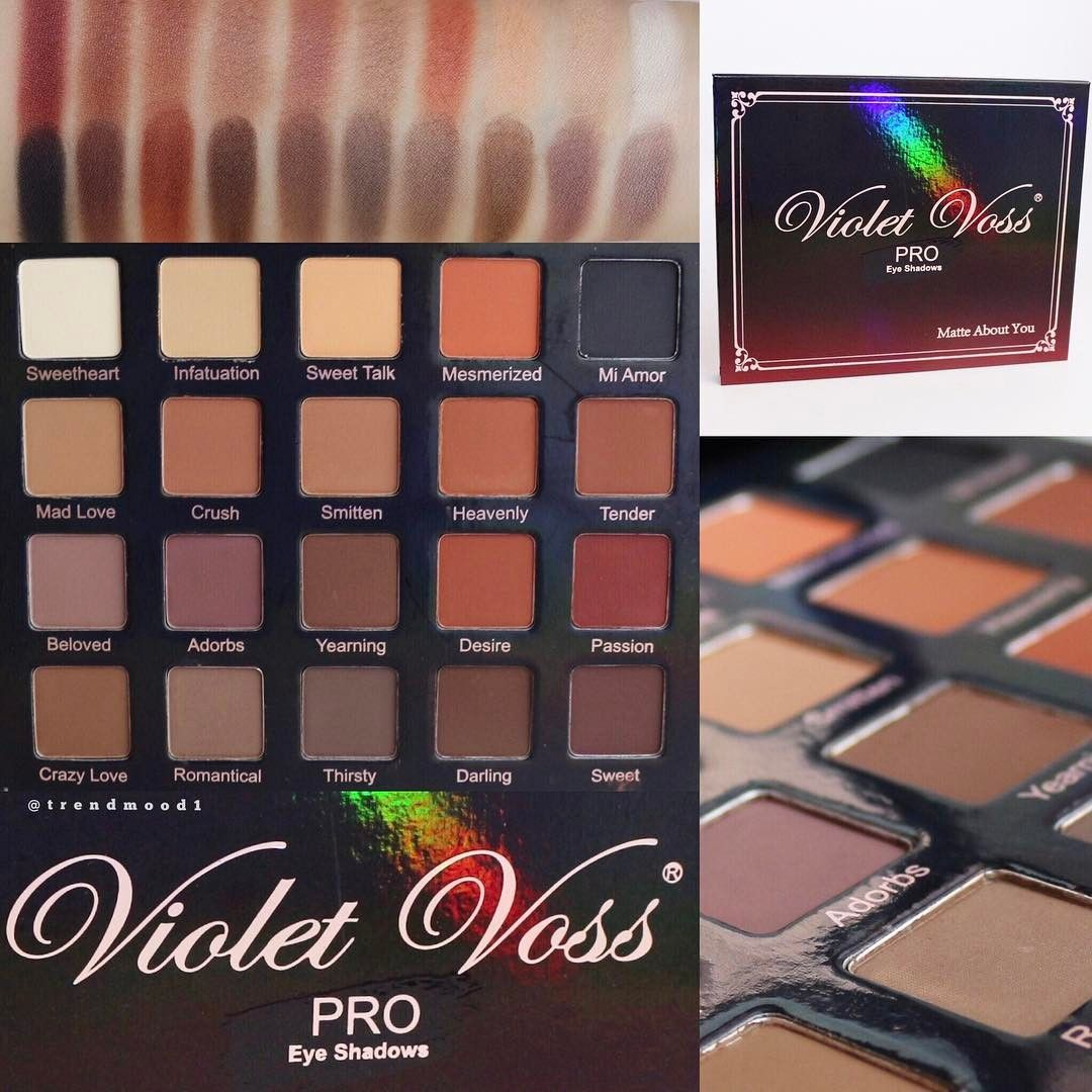 Matte About You Pro Eyeshadow Palette by Violet Voss Cosmetics #21