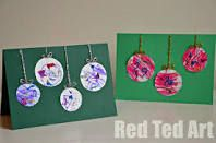 homemade christmas cards for kids - Google Search