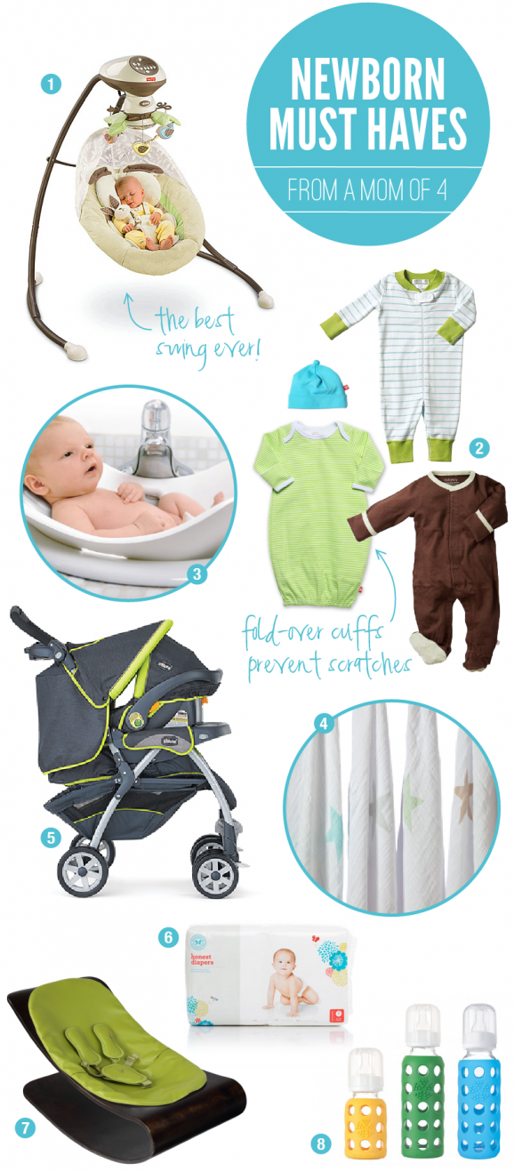 The Ultimate List Of Essential Baby Gear For Newborns From