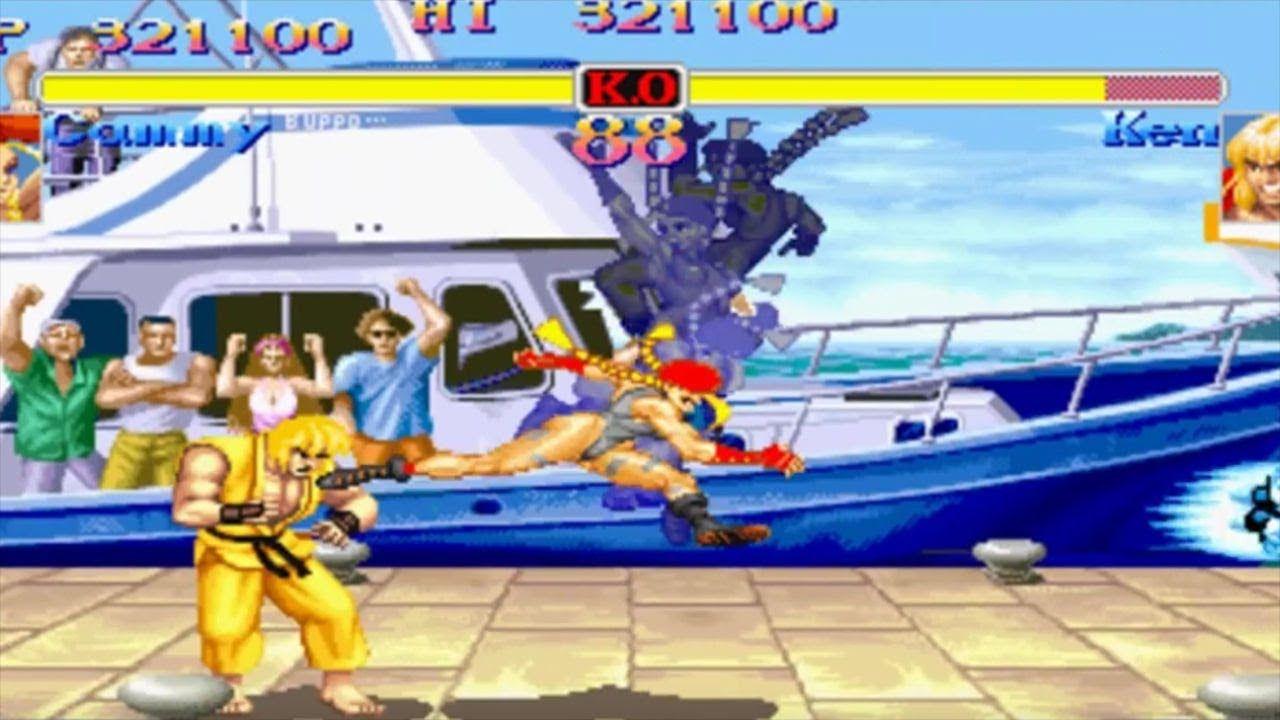 Super Street Fighter 2 Turbo Capcom Arcade Retro Gameplay