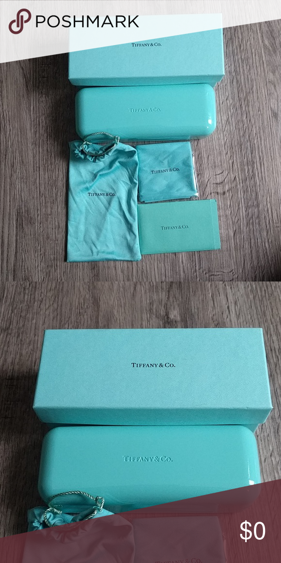 7f13725eadeb Tiffany   Co box and eyeglass case Tiffany   Co box Tiffany   Co eyeglass  case with accessories Tiffany   Co. Accessories