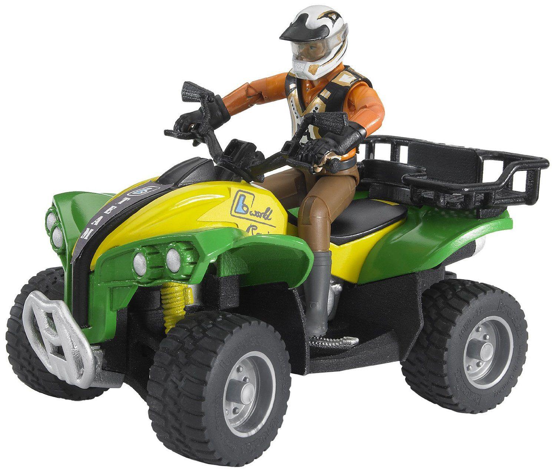 online store 308e2 2941d Bruder - Quad con personaggio: Amazon.it: Giochi e ...