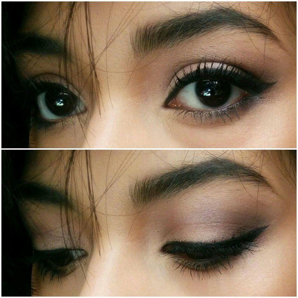 Simple Brunch Look Tutorial Combination skin makeup