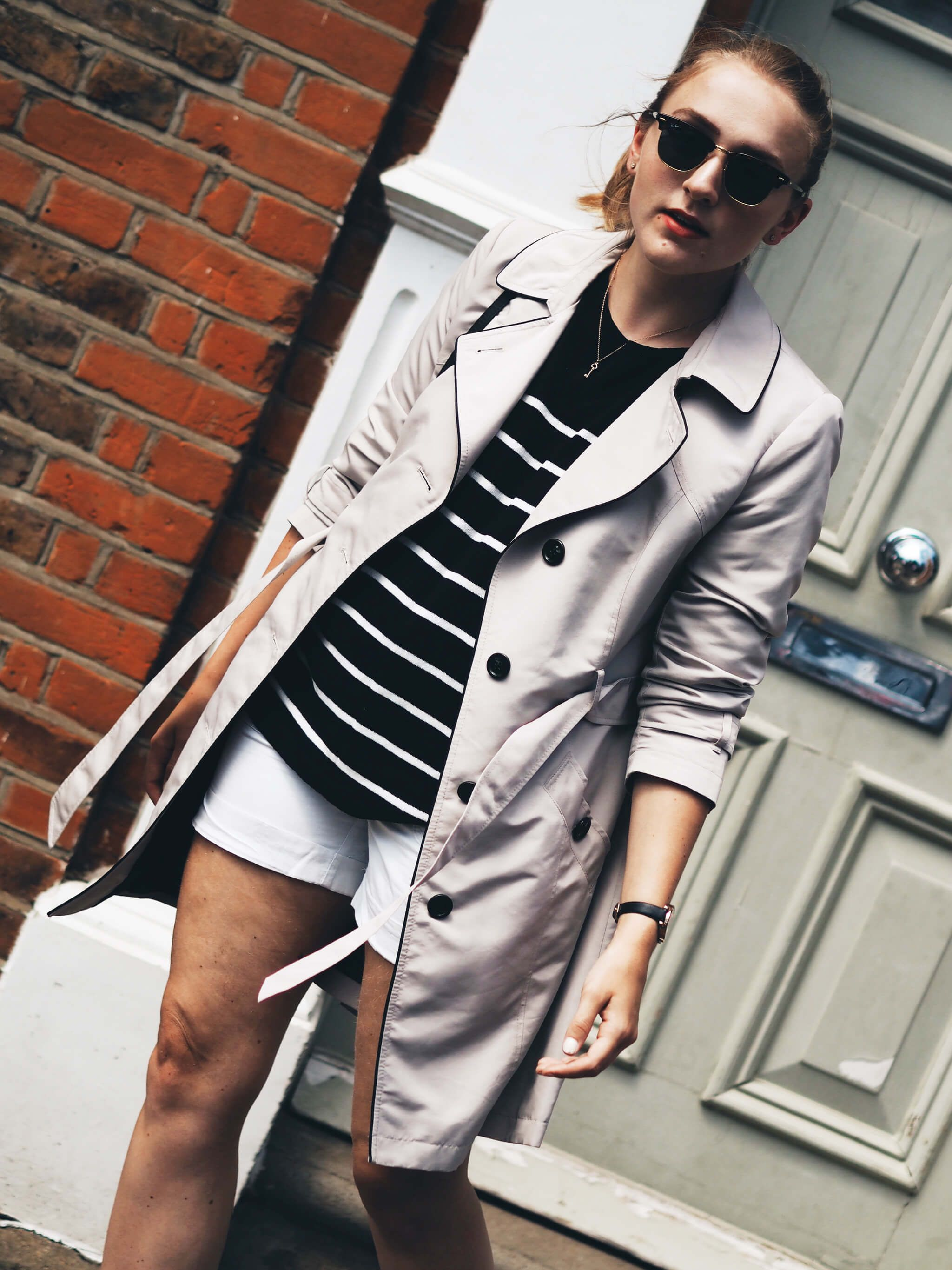 Fashion week How to trench wear coat in summer for girls