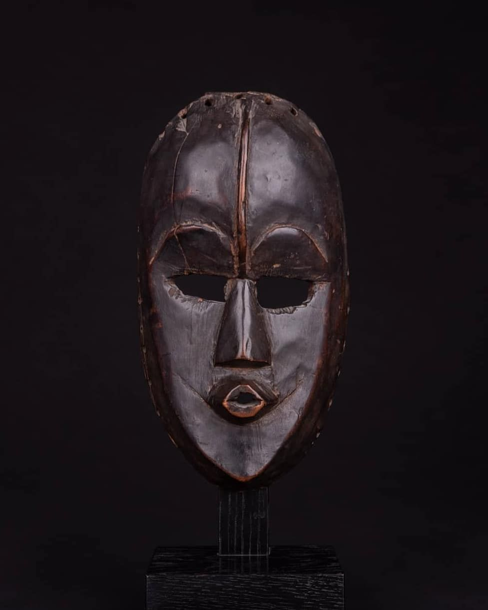 Granier Ancient On Instagram Everybody Is Looking For The Right Dan Mask Here Is One With A Solid Ancient And Historical In 2020 Ancient Old Things Historical