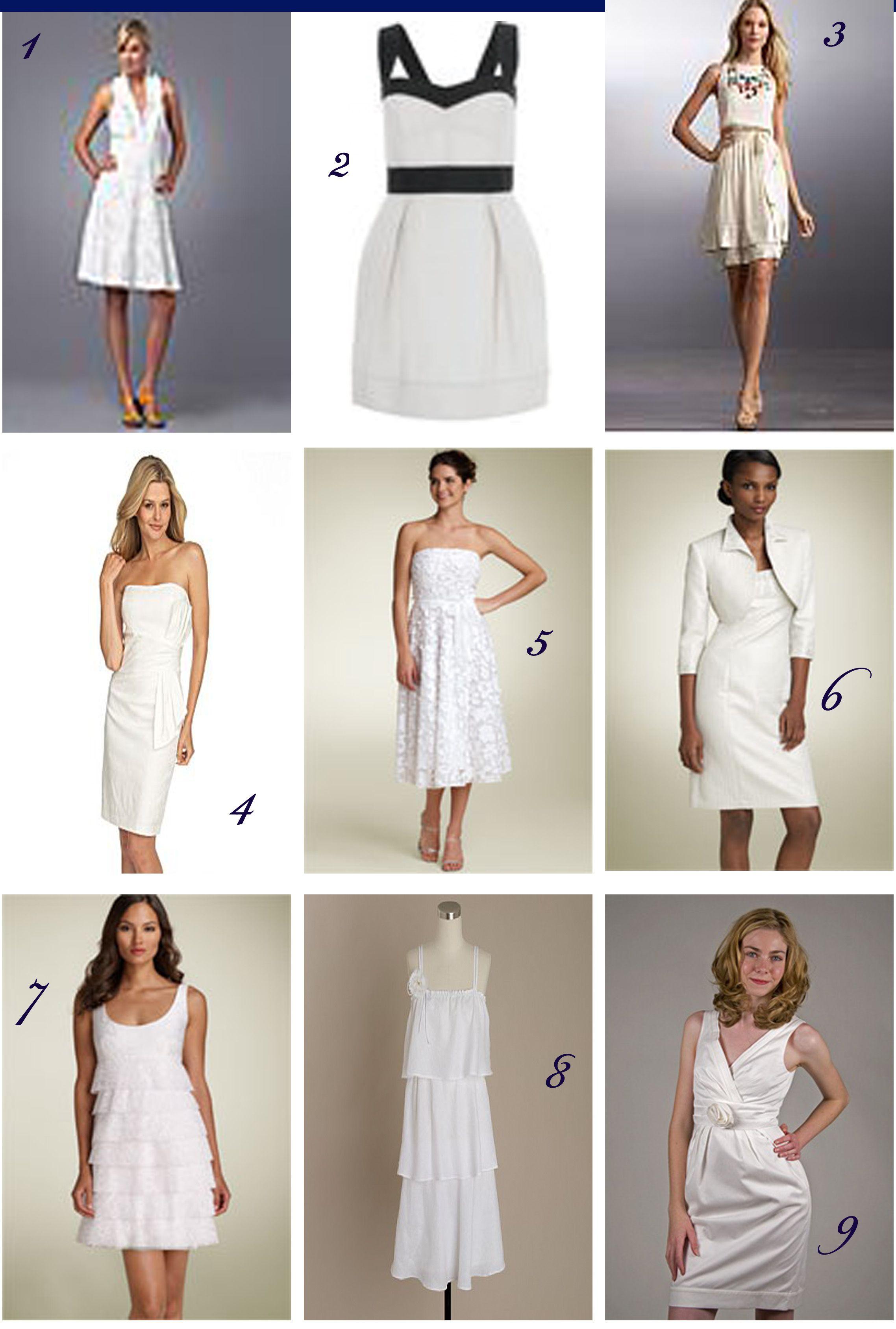 Court House Wedding Dresses Ideas